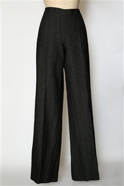 Sale 9095F - Lot 20 - A pair of Max & Co wool grey flex wide leg pants (made in Italy), size 10.