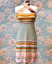 Sale 8474A - Lot 30 - A cute Missoni dress, with halter design straps, in good condition, (small fabric pull on front), size 40