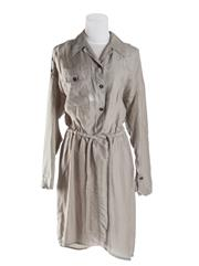 Sale 8493A - Lot 81 - A Ginger & Smart soft khahi shirt dress with button down front and drawstring waist, AU size 10, with tag