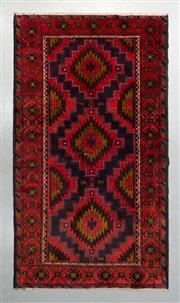 Sale 8499C - Lot 34 - Persian Baluchi 216cm x 116cm