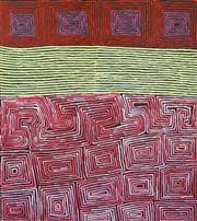 Sale 8535 - Lot 552 - Ronnie Tjampitjinpa (c1943 - ) - Tingari Cycle 140 x 125cm (stretched & ready to hang)