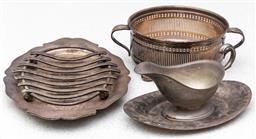 Sale 9162H - Lot 216 - A collection of silver plated wares