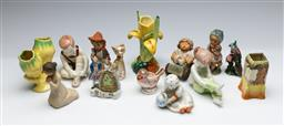 Sale 9164 - Lot 143 - A collection of various ceramics inc Goebbels figures, Staffordshire, Doulton and others