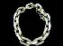 Sale 7358 - Lot 23 - A SILVER HEAVY CHAIN BRACELET.