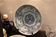 Sale 8024 - Lot 71 - Japanese Blue & White Bowl in the Lotus Shape