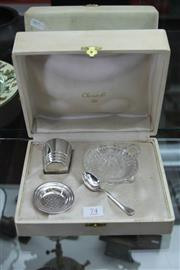 Sale 8261 - Lot 74 - Christofle Cocktail Kit