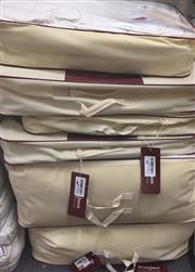 Sale 8310A - Lot 409 - A stack of quality Brinkhouse doonas, three medium 160 x 220, two large 240 x 260