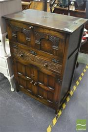 Sale 8326 - Lot 1326 - Timber Drop Front Cabinet