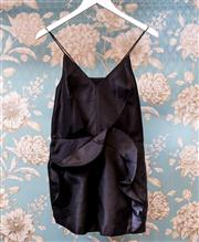 Sale 8474A - Lot 31 - A sassy Cameo playsuit, with black frill design, excellent condition, size 10