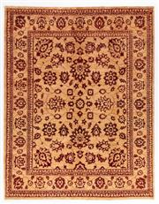 Sale 8790C - Lot 63 - An Afghan Chobi, Hand Spun In Naturally Dyed Wool, 257 x 203cm