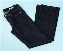 Sale 9092F - Lot 35 - A PAIR OF JAG DENIM JEANS; in dark blue with mid Rise Boot Cut. (Size 9) photo needed