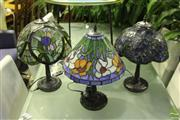 Sale 8499 - Lot 1057 - Set of 3 Small Table Lamps
