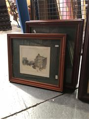 Sale 8841 - Lot 2066 - Collection of Four Framed Artworks