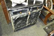 Sale 8093 - Lot 1501 - Rustic 3 Door Cabinet