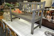 Sale 8156 - Lot 1049 - Outdoor Bench