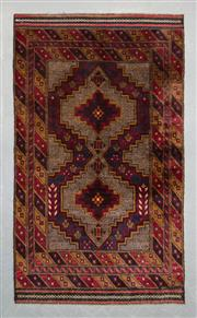 Sale 8499C - Lot 35 - Persian Baluchi 216cm x 116cm
