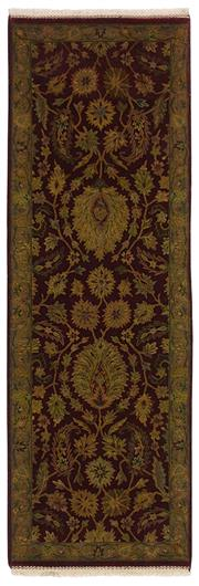 Sale 8725C - Lot 88 - An Indian Nagri Runner, Hand-knotted Wool, 244x81cm, RRP $2,500