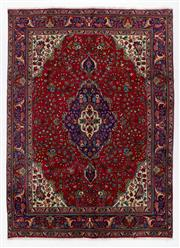 Sale 8760C - Lot 53 - A Persian Kashan From Isfahan Region 100% Wool Pile On Cotton Foundation, 294 x 212cm