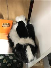Sale 8759 - Lot 2329 - Faux Skunk Hat