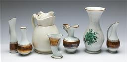 Sale 9164 - Lot 125 - A Collection of ceramics inc Rosenthal Vase (H:17cm), Bavarian miniatures and a Cosy jug