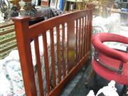 Sale 7974A - Lot 1042 - Timber Bed Head