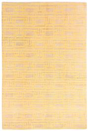 Sale 8563A - Lot 26 - The Florence Broadhurst Collection Design; Geometric Made in; Nepal Colour; Saffron Made from; Tibetan Wool & Nettle Size;...