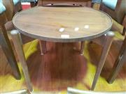 Sale 8661 - Lot 1098 - Vintage Teak Round Occasional Table