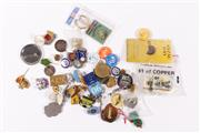 Sale 9015 - Lot 37 - A collection of badges
