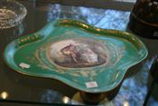Sale 7874 - Lot 76 - Serves Style Plate with Courting Scene (149)