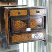 Sale 8351 - Lot 21 - Inlaid Ladies Jewellery Chest