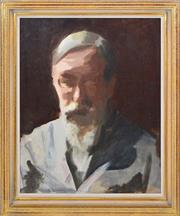 Sale 8401 - Lot 581 - Max Meldrum (1875 - 1955) - Self-portrait 44.5 x 36cm