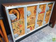 Sale 8495F - Lot 1009 - Vintage Japanese Locker with Timber Keys