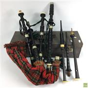 Sale 8648A - Lot 47 - Bagpipes in Case
