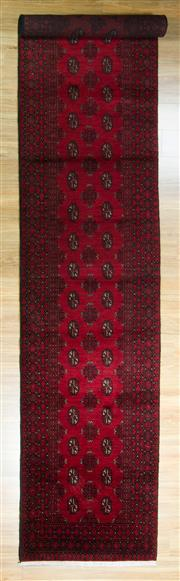 Sale 8617C - Lot 65 - Afghan Turkman Runner 476x80
