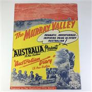 Sale 8793 - Lot 74 - Australian Film Posters 1949, double-sided; The Murray Valley & Short Subjects, 55 x 42cm, unframed. Rare.
