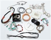 Sale 9044H - Lot 61 - A large collection of costume jewellery to include bracelets necklaces and earring sets