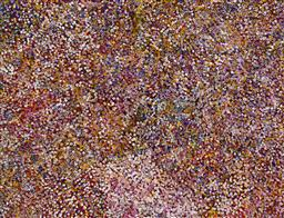 Sale 9148A - Lot 5025 - BESSIE PITJARA (c1960 - ) Bush Plum acrylic on canvas 200 x 153 cm (stretched and ready to hang) signed verso; certificate of authen...