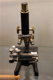 Sale 7977 - Lot 64 - Eleitz Wetzler Antique Microscope