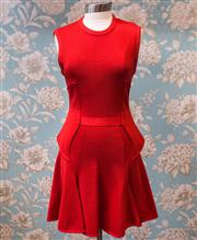 Sale 8474A - Lot 36 - A gorgeous red Givenchy PARIS dress, very good condition, size 12