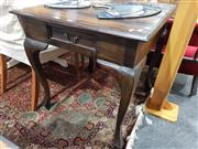 Sale 8826 - Lot 1056 - Timber Occasional Table with Single Drawer