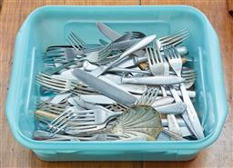 Sale 9103M - Lot 556 - A collection of mostly silverplated cutlery.