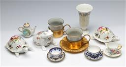 Sale 9164 - Lot 144 - A collection of various miniature ceramics inc mostly Spode