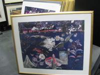 Sale 7919 - Lot 597 - John Wolseley- 15 works Botanists Camp, Night, Lithographs, Hand Signed and Editioned, 74 x 94cm