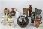 Sale 8486 - Lot 30 - Australian Studio Pottery Collection and Other Ceramics inc Shelley and Hand Painted