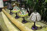 Sale 8499 - Lot 1082 - Set of 4 Small table Lamps
