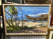 Sale 8910 - Lot 2034 - Artist Unknown  By the Sea Side oil on canvas, 40 x 55.5 cm, signed