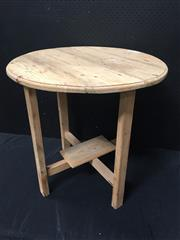 Sale 9051 - Lot 1088 - Pine Cricket Table