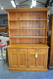 Sale 8013 - Lot 1187A - Timber  Buffet and Hutch