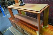 Sale 8147 - Lot 1034 - Timber Hall Table by Catt