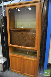 Sale 8326 - Lot 1272 - Retro Display Cabinet